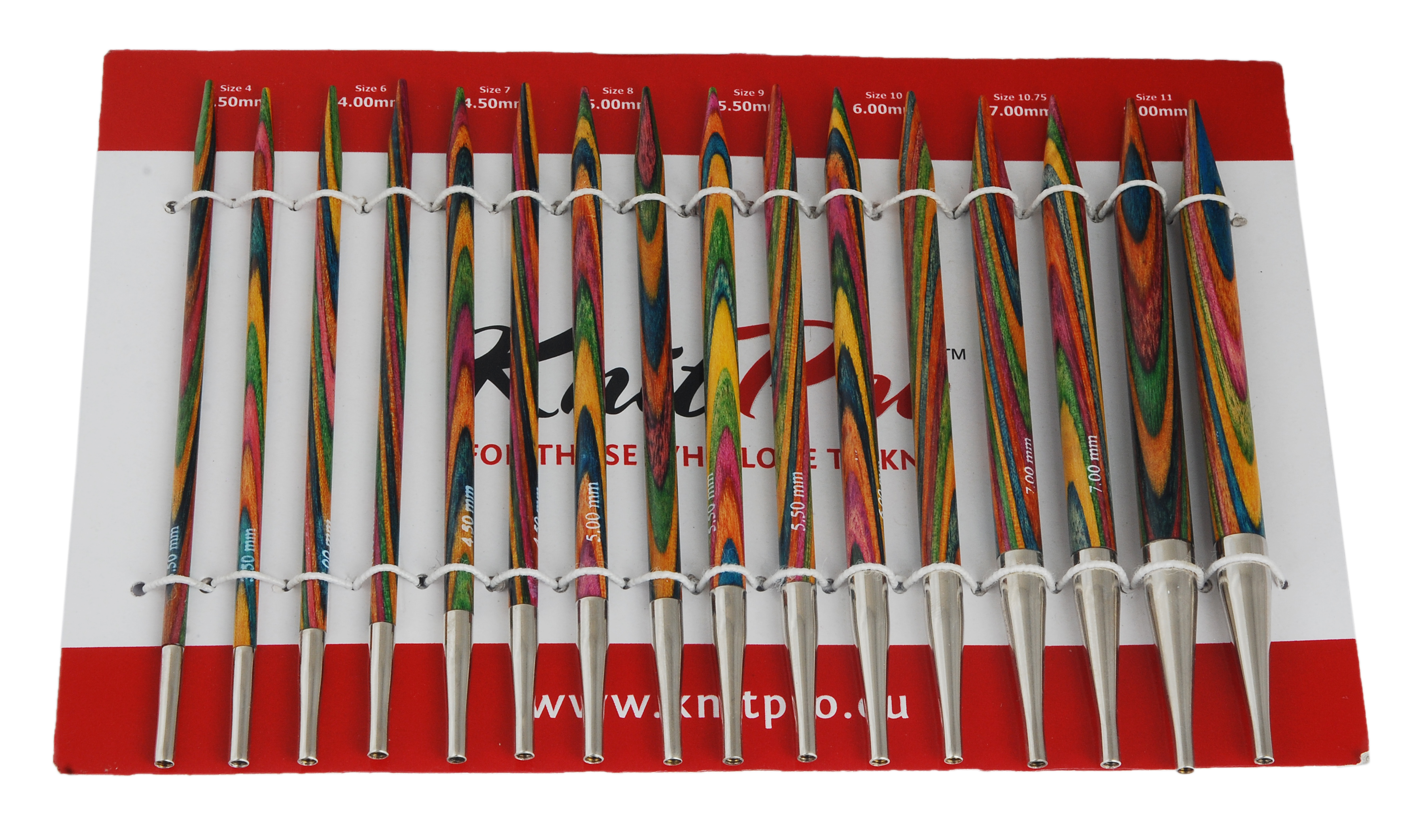 knit pro symfonie wood interchangeable needle deluxe sets