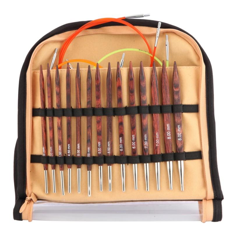 Knitpro Cubics Rose Interchangeable Needle Tips Standard Length 4-8 mm