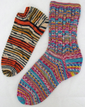 lacy-sock-and-sporty-sock