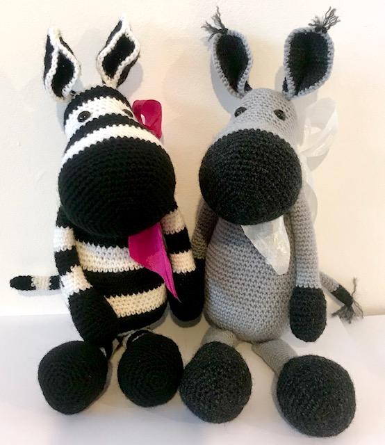 Zena Zebra Douglas Donkey 1