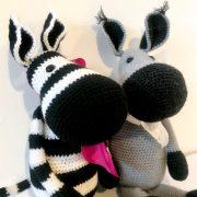Zena Zebra Douglas Donkey 2