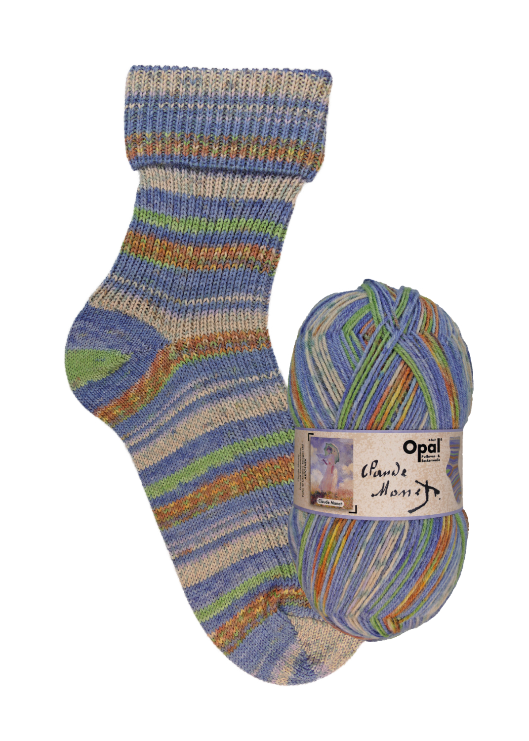 Opal Claude Monet 4 Ply Now Available Viridian Yarn